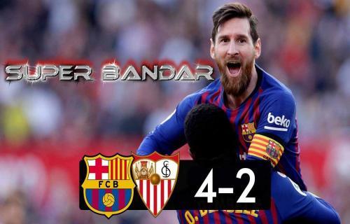 Sevilla (2) VS (4) Barcelona