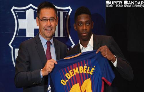 Presiden Barcelona mememuji Kehebatan Ousmane Dembele Dari Pada Neymar