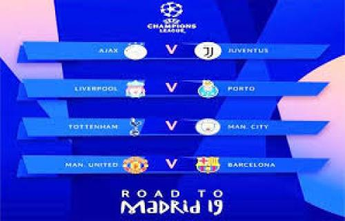 Hasil Drawing Perempat Final Liga Champions