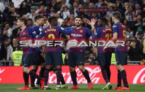 Barca Ungguli Madrid 1-0 di Babak Pertama