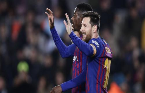 Babak Kedua Barcelona VS Levanto 1-0