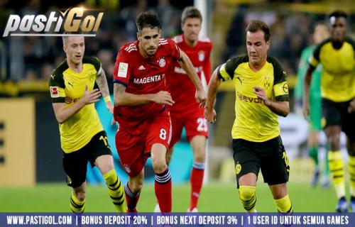 Bayern Munchen Tampin Sangat Memukau di Der Klassiker