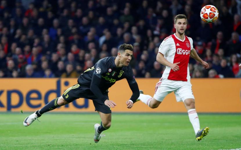 Ronaldo Mencetak Gol , Juventus Tertahan di Markas AFC Ajax