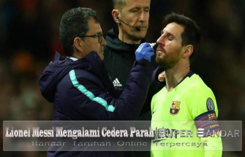 Lionel Messi Mengalami Cedera Parah