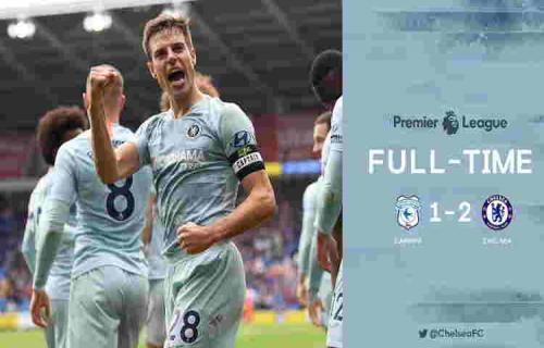 Cardiff City vs Chelsea Skor 1 – 2