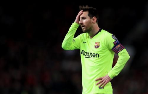 Lionel Messi Tidak Berkutib di Anfield