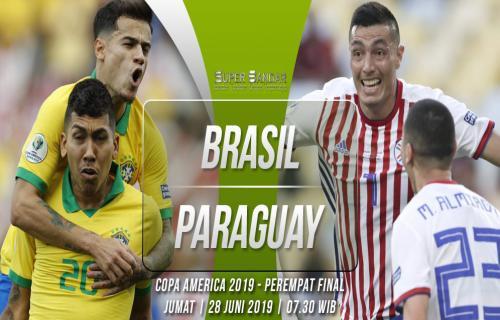 Prediksi Copa America | Brasil Vs Paraguay