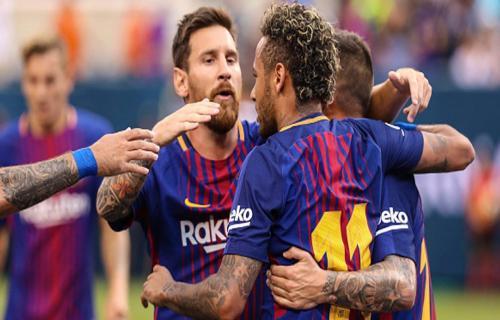 Neymar kembali ke Barcelona