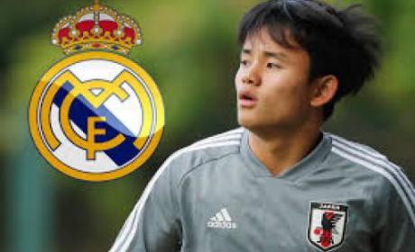 Takefusa Kubo Senang Bisa Gabung Real Madrid