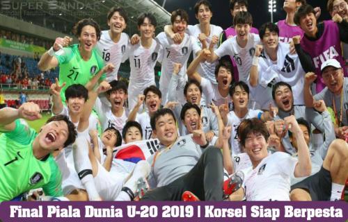 Final Piala Dunia U-20 2019 | Korsel Siap Berpesta