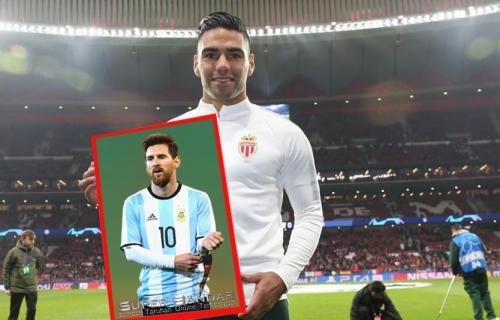 Dihujani Kritikan, Lionel Messi Dibela Radamel Falcao