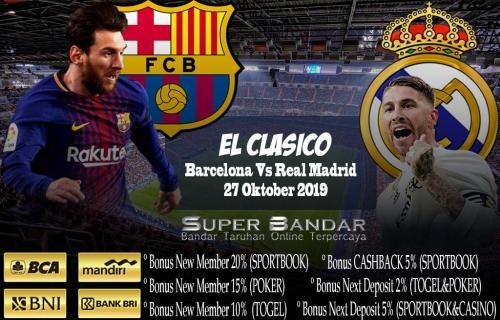 Jadwal Pertandingan El Clasico dan Duel Derbi di La Liga 2019 – 2020