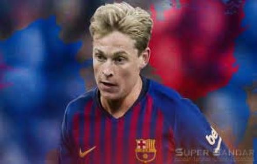Nomor Punggung Impian Frenkie de Jong di Barcelona