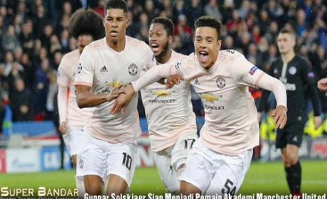 Gunnar Solskjaer Siap Menjadi Pemain Akademi Manchester United