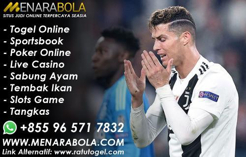 Cristiano Ronaldo Bolos Pada Sesi Latihan Pertama Juventus
