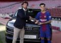 Audi minta pemain Barcelona kembalikan mobil gratisnya