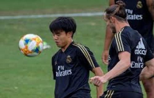 Madrid pinjamkan Takefusa Kubo ke Mallorca