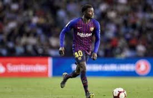 Moussa Wague berhasil menembus skuat inti Barcelona