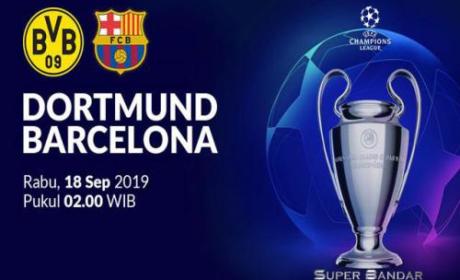 Pertandingan Borussia Dortmund Vs Barcelona Tanpa Pemenang