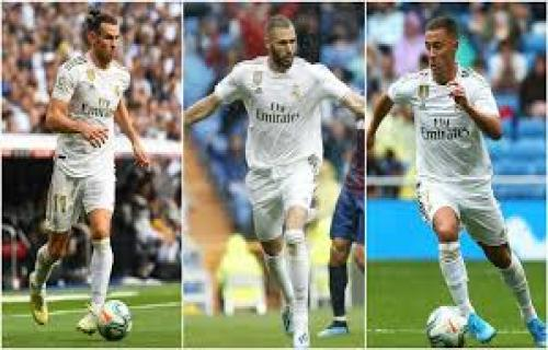 Bale-Benzema-Hazard, Trisula Baru Real Madrid
